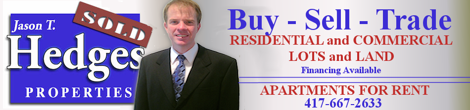 Jason T. Hedges Properties Buy sell tratde - Nevada, Mo